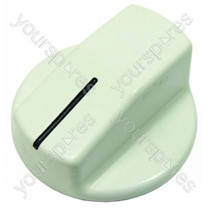 Philips White Hob Hotplate Control Knob