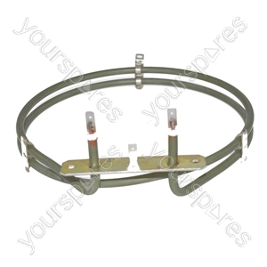 Philips Replacement Fan Oven Cooker Heating Element (2500w) (2 Turns)