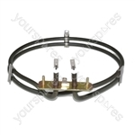 De Dietrich Replacement Fan Oven Cooker Heating Element (2500w) (2 Turns)