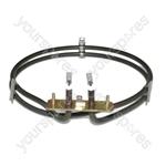 De Dietrich Replacement Fan Oven Cooker Heating Element (2500w) (2 Turns)