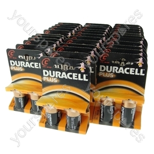 Duracell Plus C Size MN1400 x 34 packs Of 2 Best Before 2016 *Clearance*