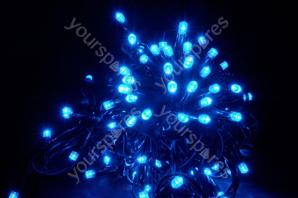 Heavy Duty LED String Lights - 180 static - Blue 155.480UK by Lyyt