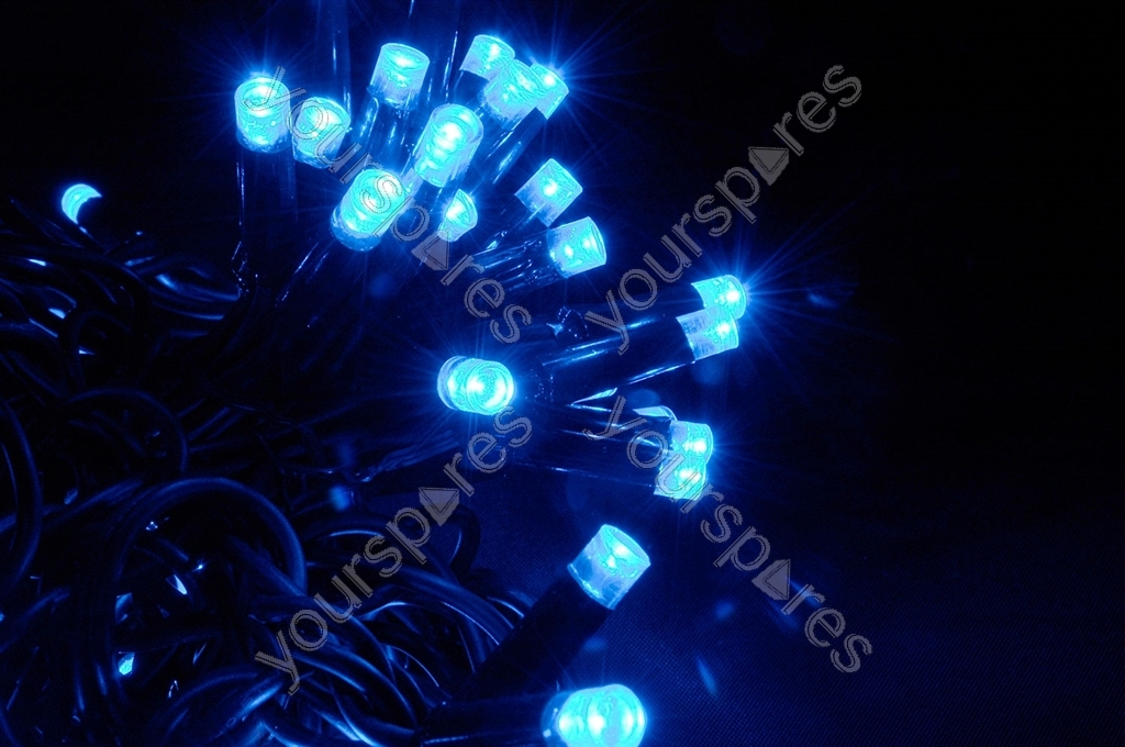 Heavy Duty LED String Lights - 180 static - Blue 155.480UK by Lyyt
