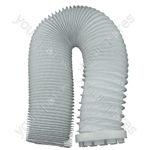 Creda TVU1 Hotpoint Tumble Dryer Vent Hose And Adaptor 2m