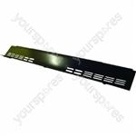Baffle Control Panel Black