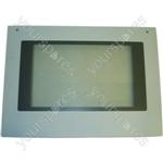 Zanussi White Main Oven Outer Door Glass