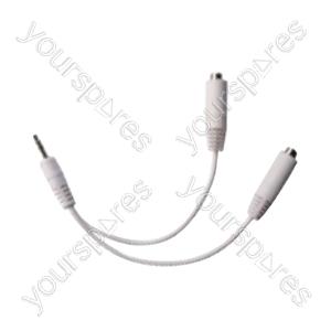 iPod/iPhone/iPad Headphone Splitter