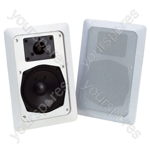 """e-audio In-Wall Speaker With 5"""" Driver and Tweeter"""