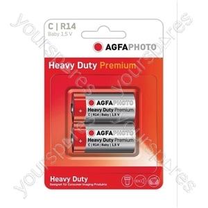AGFA PHOTO Zinc Chloride Battery - Type C