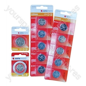 AGFA Lithium Button Cells Blister of 1 - Type CR1220