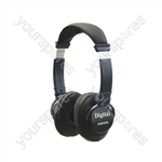 Digital Quality Hi-FI Stereo Headphones