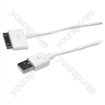 USB 2.0 to iPod/iPhone Transfer and Charge Cable