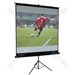 "Matt White Height Adjustable Tripod Projection Screen - Screen Size (mm) 1524 (60"")"