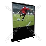 Height Adjustable Portable Projection Screen