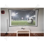 "Electrovision 100"" Foldable Projector Screen Curtain 16:9"