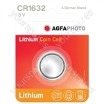 AGFA PHOTO Lithium Cell (Card Of One) - Type CR1632