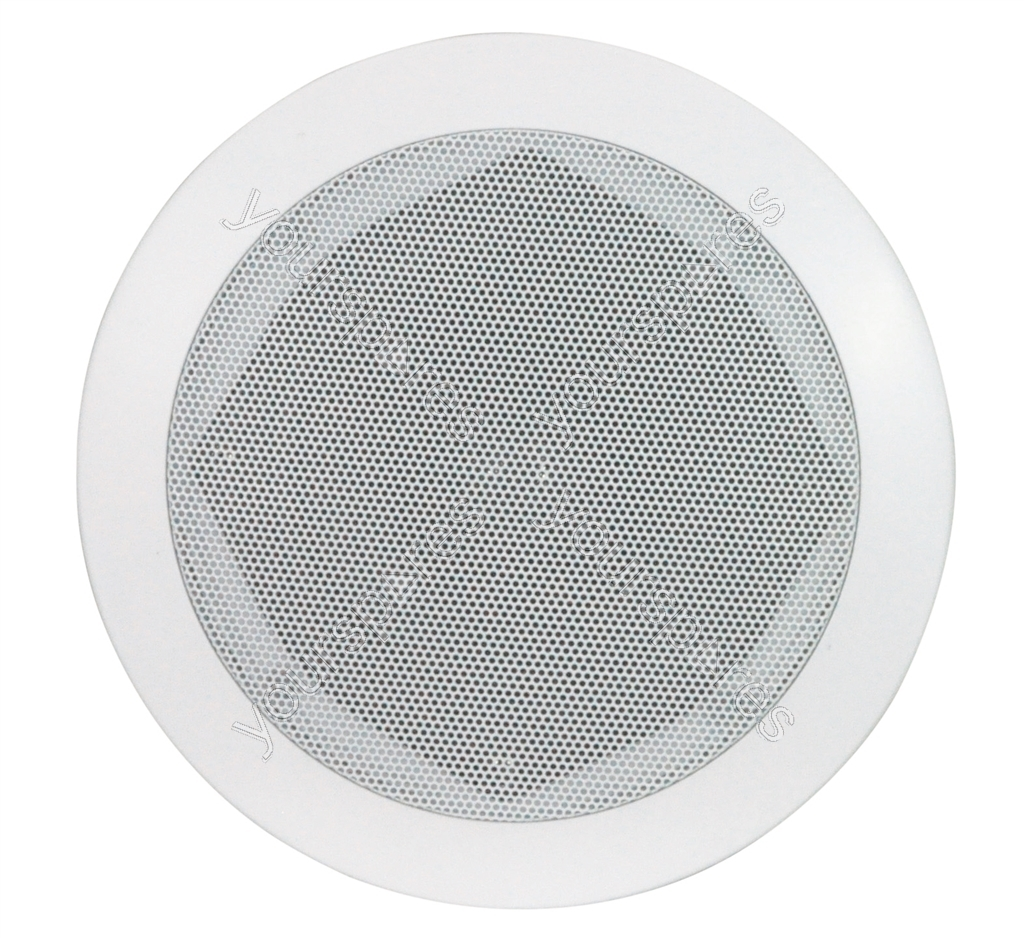 e-audio White 2-Way High Powered Low Profile Ceiling Speakers With ...