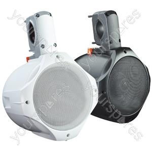 "e-audio 8"" 2-Way Public Address Speaker (8 Ohm 260 W) - Colour White"