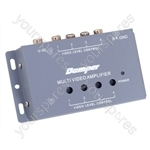 4 Way Video Amplifier/Splitter