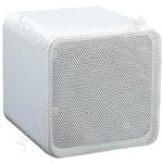"e-audio 4"" Full Range 80W Dual Cone Mini Box Speakers - Colour White"