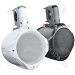 "e-audio 8"" 2-Way Public Address Speaker (8 Ohm 260 W) - Colour White"