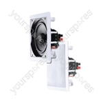 e-audio White Square Ceiling Speakers With Tweeter