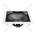 """e-audio In-Wall or Ceiling Subwoofer With 10"""" Driver"""