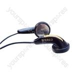 Lightweight Stereo In-Earphones - Lead Length (mm) 1200 (1.2m)