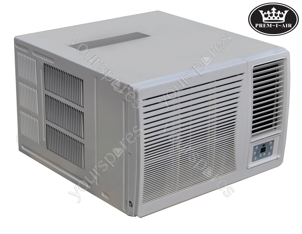 Prem i air 12000 btu dc inverter window air conditioner for 12000 btu window ac
