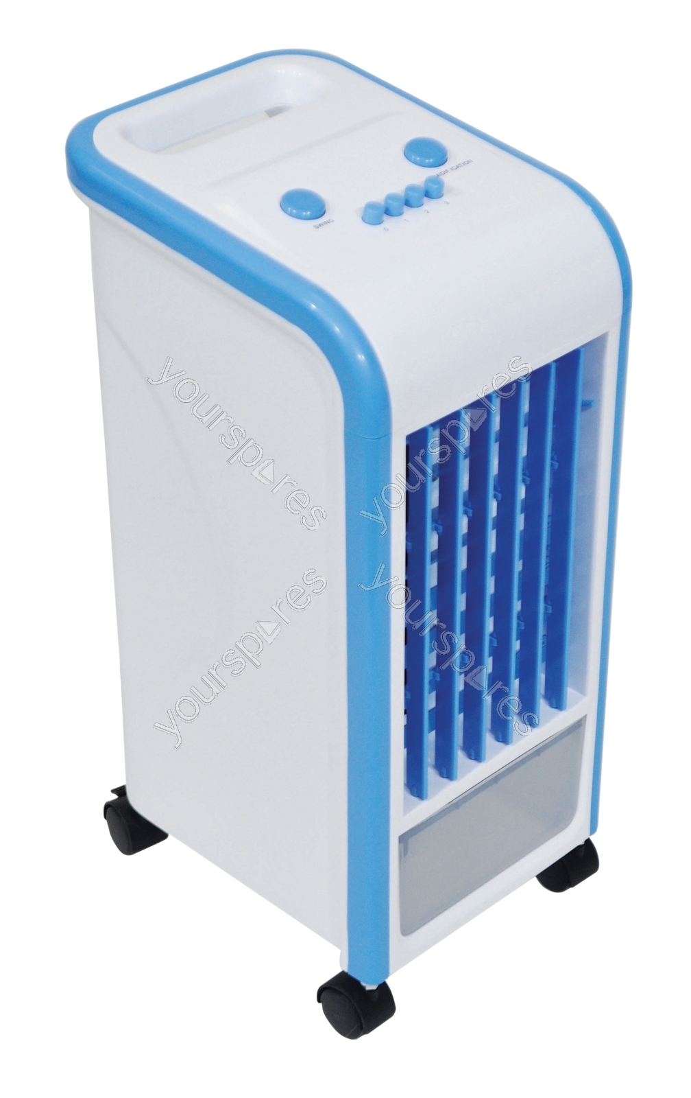 Ice Pack Air Coolers : Prem i air evaporative cooler with l tank ice
