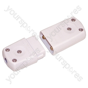 2 Way 10 A In-line Connector