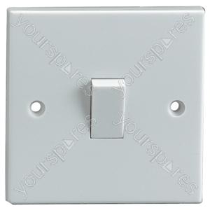 2 Way Single Gang Light Switch 10A