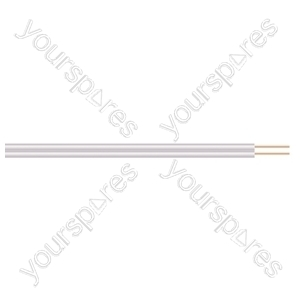 2 Core Figure of 8 Bell Wire - Lead Length (m) 25