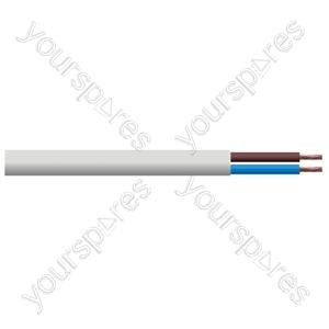 Round 2 Core 0.75mm PVC Flex 6A 3182Y Hank - Length (m)