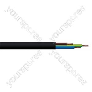 Round 3 core 1.5mm PVC Flex 15A 3183Y - Lead Length (m) 100