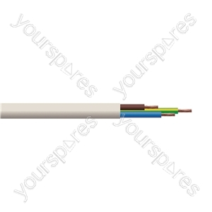 Eagle 3183TQ 2.5mm Immersion Heater Cable 1 Metre - CSA (mm2) 2.5