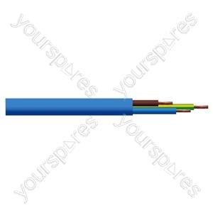 Round 3 Core 1.5mm Arctic Grade  Flex 15A 3183YG  - Colour Blue