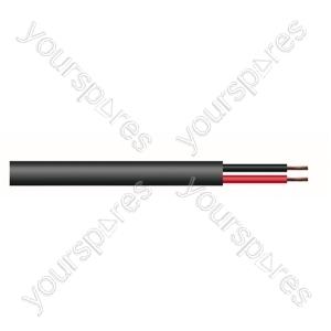 2 Core Hi-flex Professional PA Speaker Cable Reel - CSA (mm2) 2.5