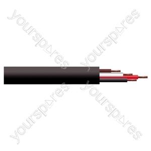 4 Core Hi-flex Professional PA Speaker Cable Reel - CSA (mm) 2.5