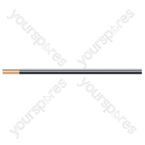 Standard 2 Core Fig of 8 Cable Full Copper Speaker Cable Hank - Number of Strands 13/0.2