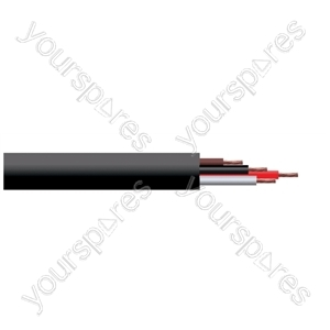 4 Core Professional Installation Speaker Cable 2.5mm (100m)