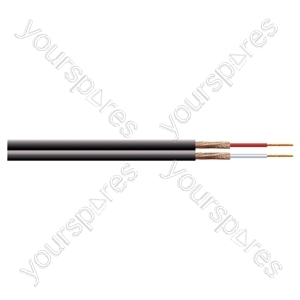 Eagle 2 Core Figure of 8 Individually Screened Cable - Number of Strands 7/0.1