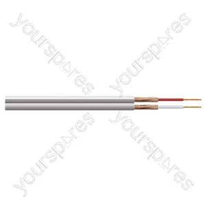 Eagle 2 Core Figure of 8 Individually Screened Cable - Number of Strands 13/0.1