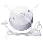 Surface Mounting Ceiling Pull Switch 5A