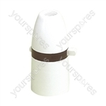 T1 Switched Pendant Lamp Holder 60W