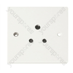 Round Pin Unswitched 5 A Socket