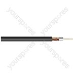 Standard Digital RG6U Satellite 75 Ohm Cable - Colour Black
