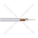 Standard Digital RG6U Satellite 75 Ohm Cable Hank - Lead Length (m) 50