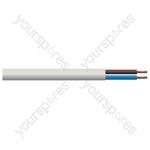 Round 2 Core 0.75mm PVC Flex 6A 3182Y Hank - Lead Length (m) 10