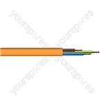 Round 3 Core 1.5mm Arctic Grade  Flex 15A 3183YG  - Colour Orange